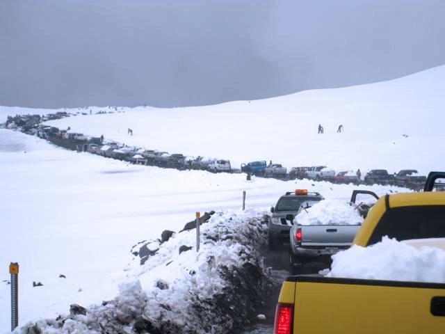 Mauna kea traffic