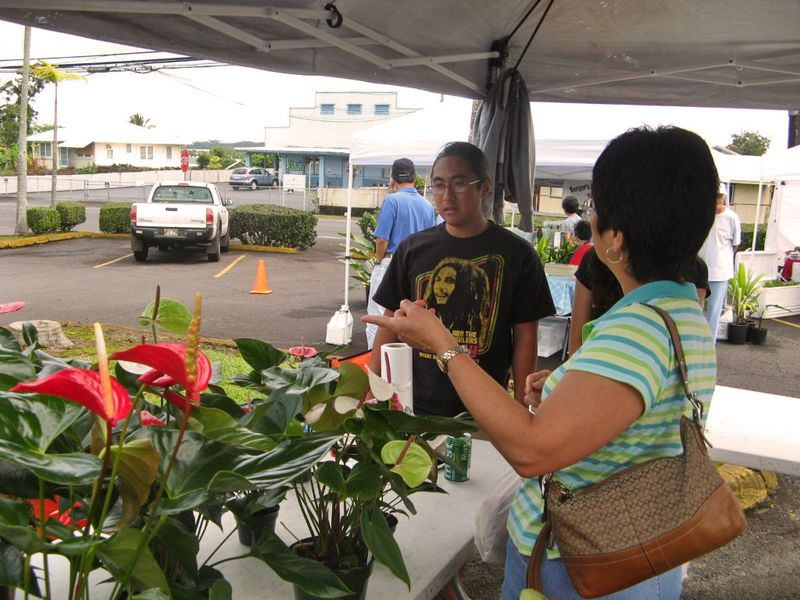 Kinoole farmers market 2 030