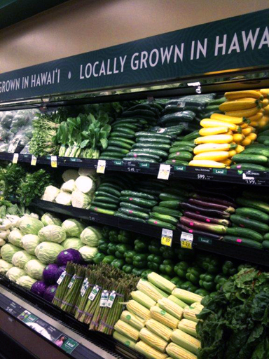 Beautiful local produce