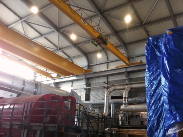 50MW turbine