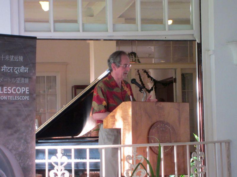 Jean-Lou Chameau, president of Cal Tech