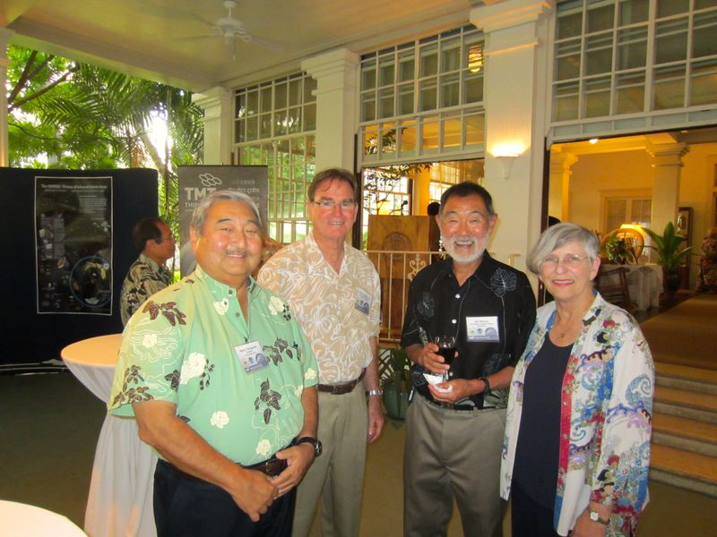 Barry Taniguchi, Carl Carlson, Jim Omura, Virginia Hinshaw