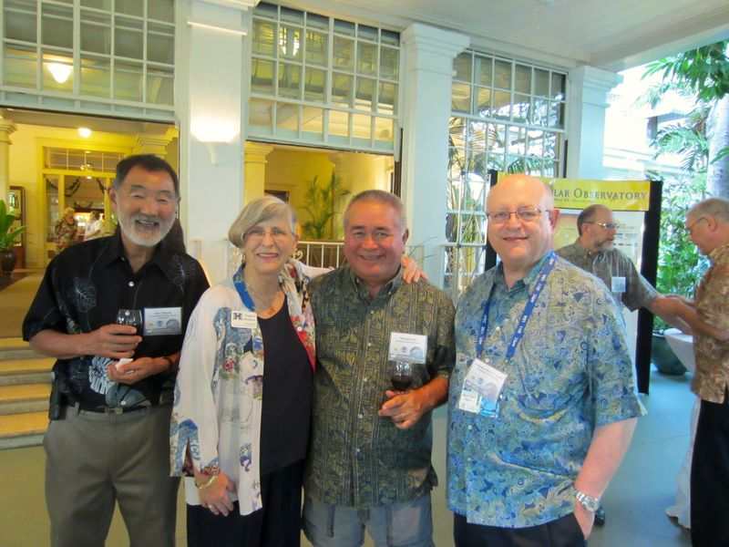 Jim Omura, Virginia Hinshaw, Mark Yudov