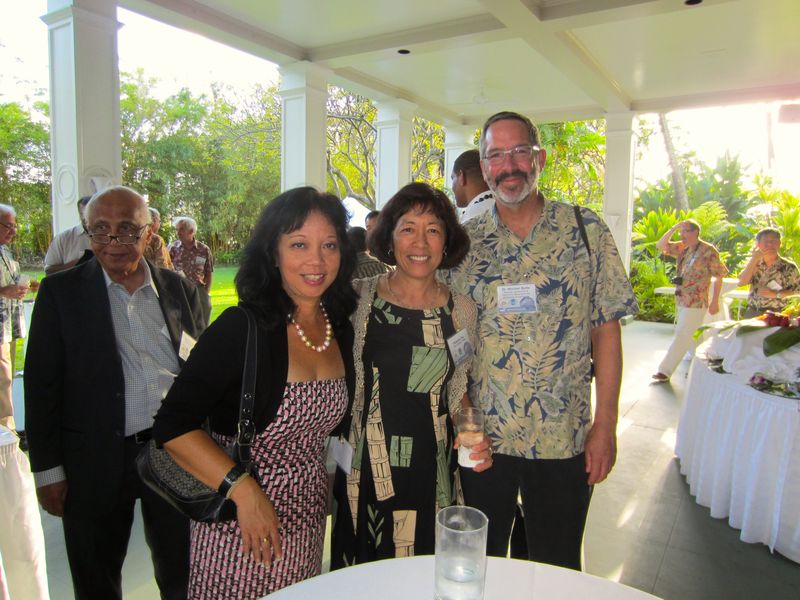 Jennifer Sabas, Roberta Chu and Mike Bolte