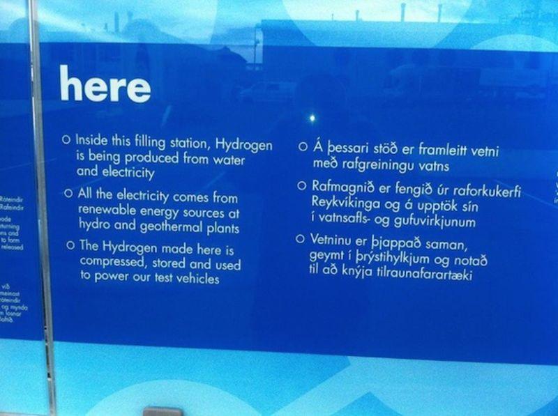 1. Iceland hydrogen refueling station